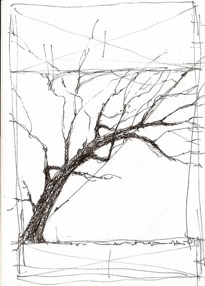 L art ne s enseigne pas mes arbres - Croquis arbre ...